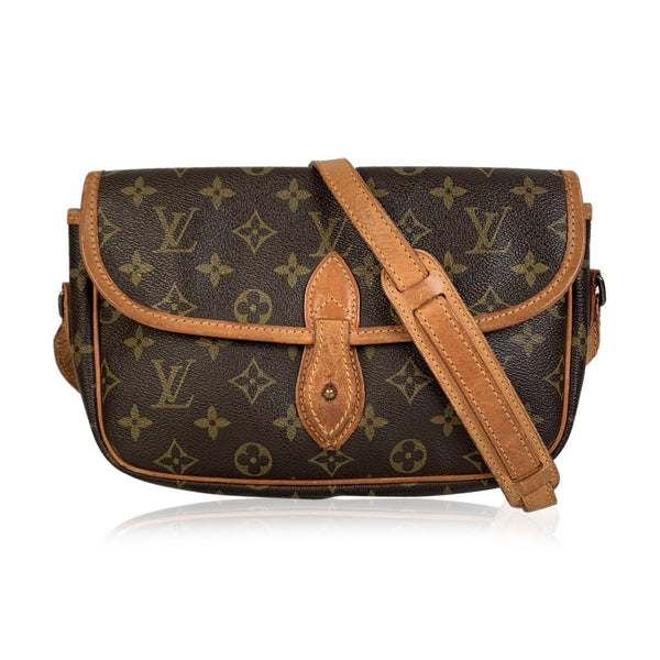 Louis Vuitton Vintage Monogram Canvas Gibeciere PM Messenger Bag