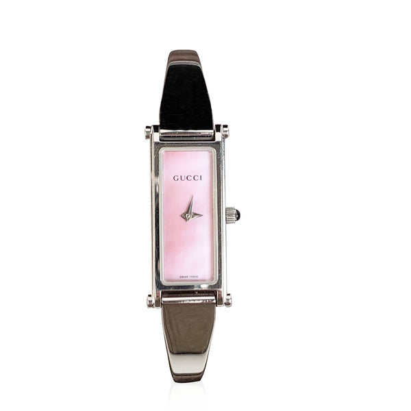 Gucci Vintage Stainless Steel Womens Wrist Watch Mod 1500L Quartz