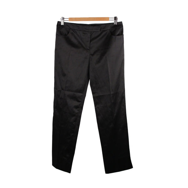 Alexander McQueen Black Classic Trousers Pants Size 40