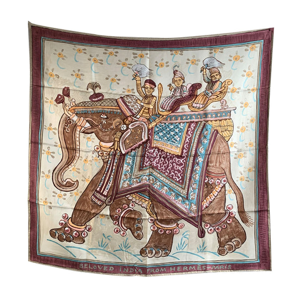 Hermes Silk Scarf Beloved India 2009 Philippe Dumas - OPHERTY & CIOCCI