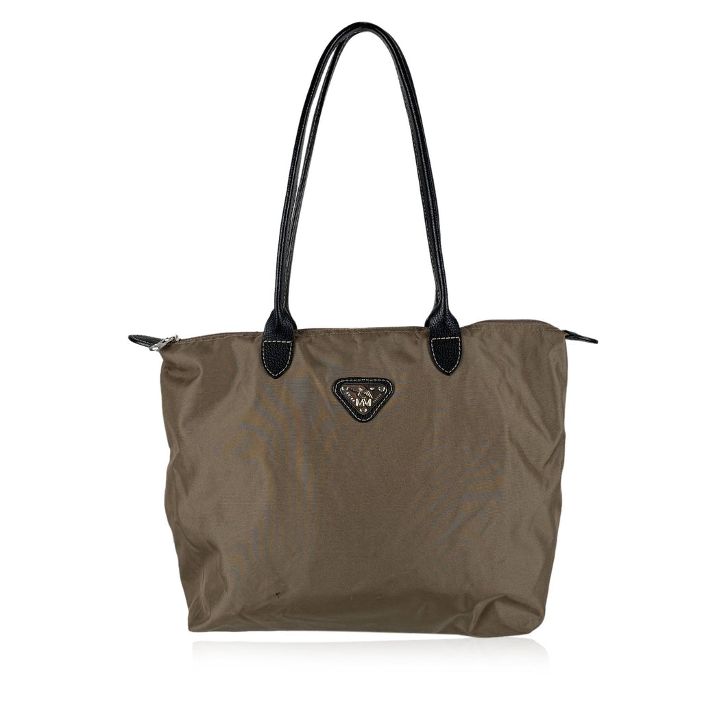 Maison Mollerus  Nylon Tote Shoulder Bag