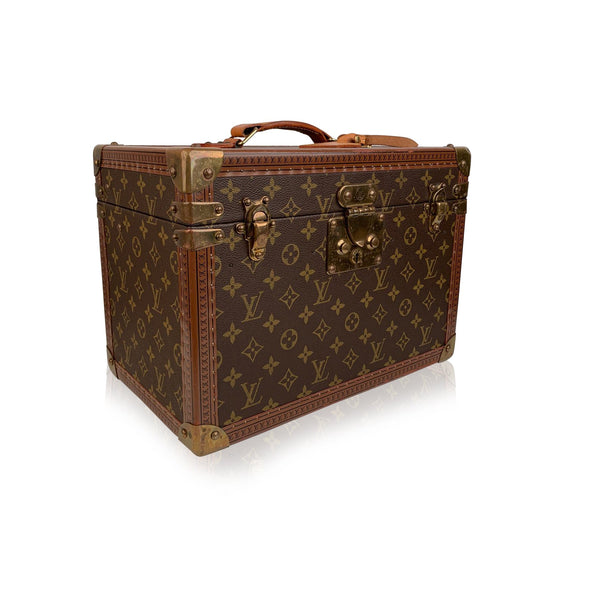 Louis Vuitton Vintage Monogram Boite Pharmacie Train Case
