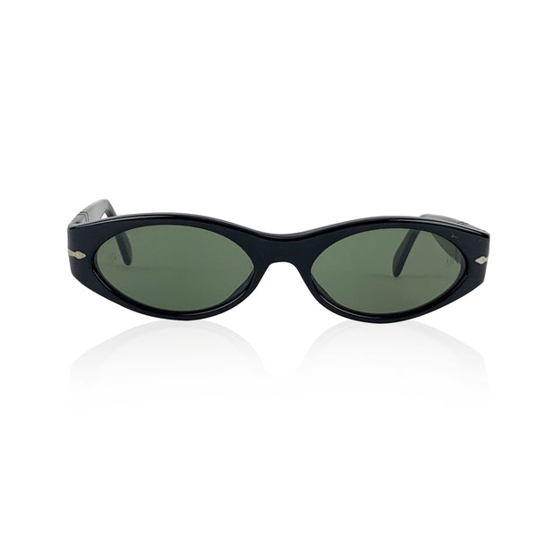 Persol Vintage Mint Oval Black 2544-S Sunglasses 53-17 135 mm