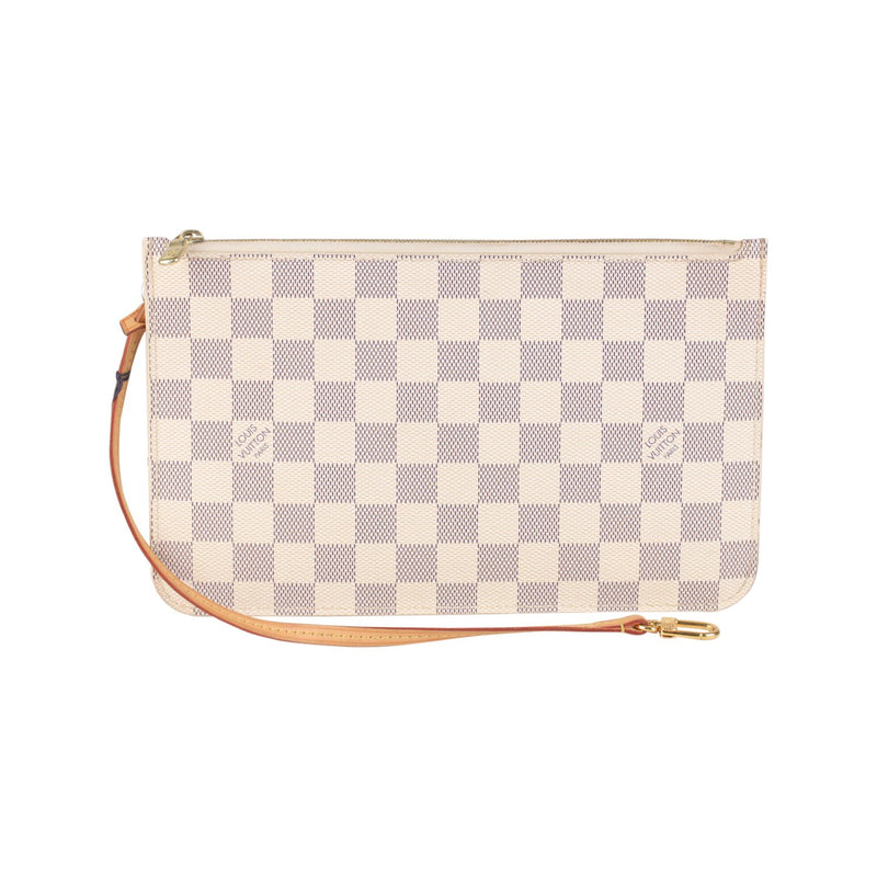 Damier Azur Pouch For Neverfull MM GM