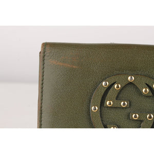 Gucci Studded Logo Wallet Coin
