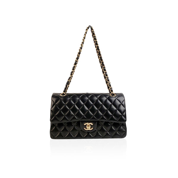 Chanel Black Quilted Leather Classic Double Flap 2.55 Bag