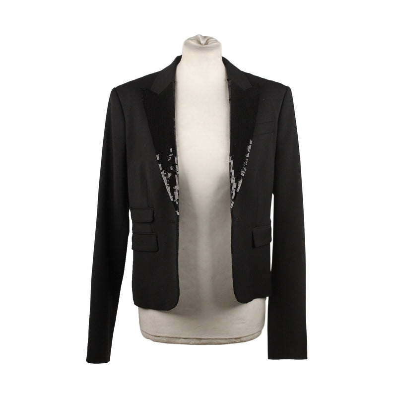 Blazer with Sequin Lapels Size 46