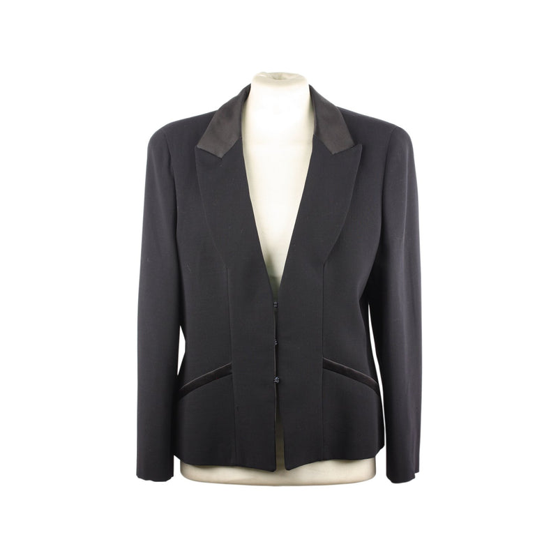 Armani Black Label Blazer Jacket Size 44