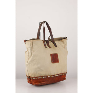 Campomaggi Teodorano Canvas Tote Bag