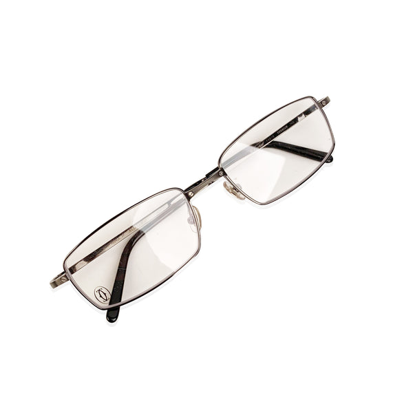 Cartier Paris Mint Titanium T-Eye Eyeglasses T8100806 54-18 140mm
