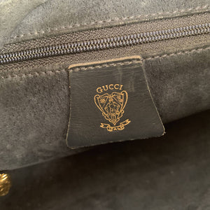 Gucci Vintage Monogram Canvas Shoulder Bag