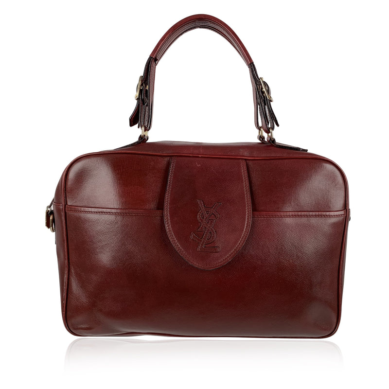 Yves Saint Laurent Vintage Satchel Top Handle Bag