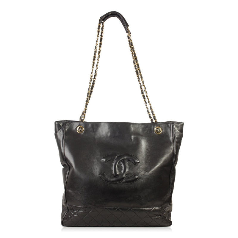 Vintage Leather Shopping Bag