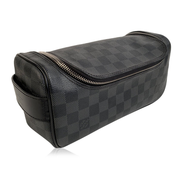 Louis Vuitton Damier Graphite Travel Trousse Toilette Bag