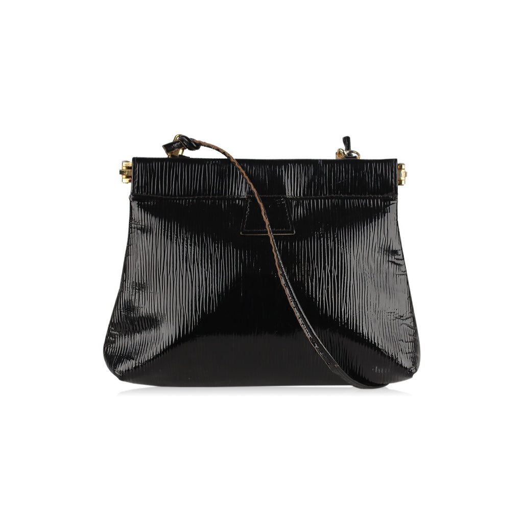Fendi  Vintage Textured Shoulder Bag