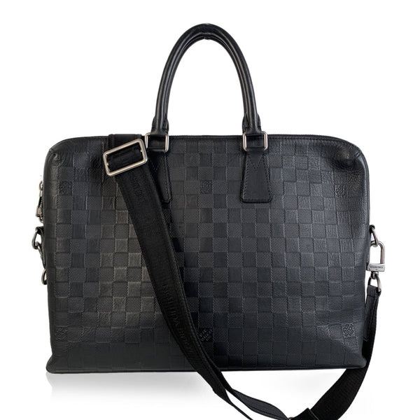 Louis Vuitton Damier Infini Leather Porte Documents Jour Briefcase