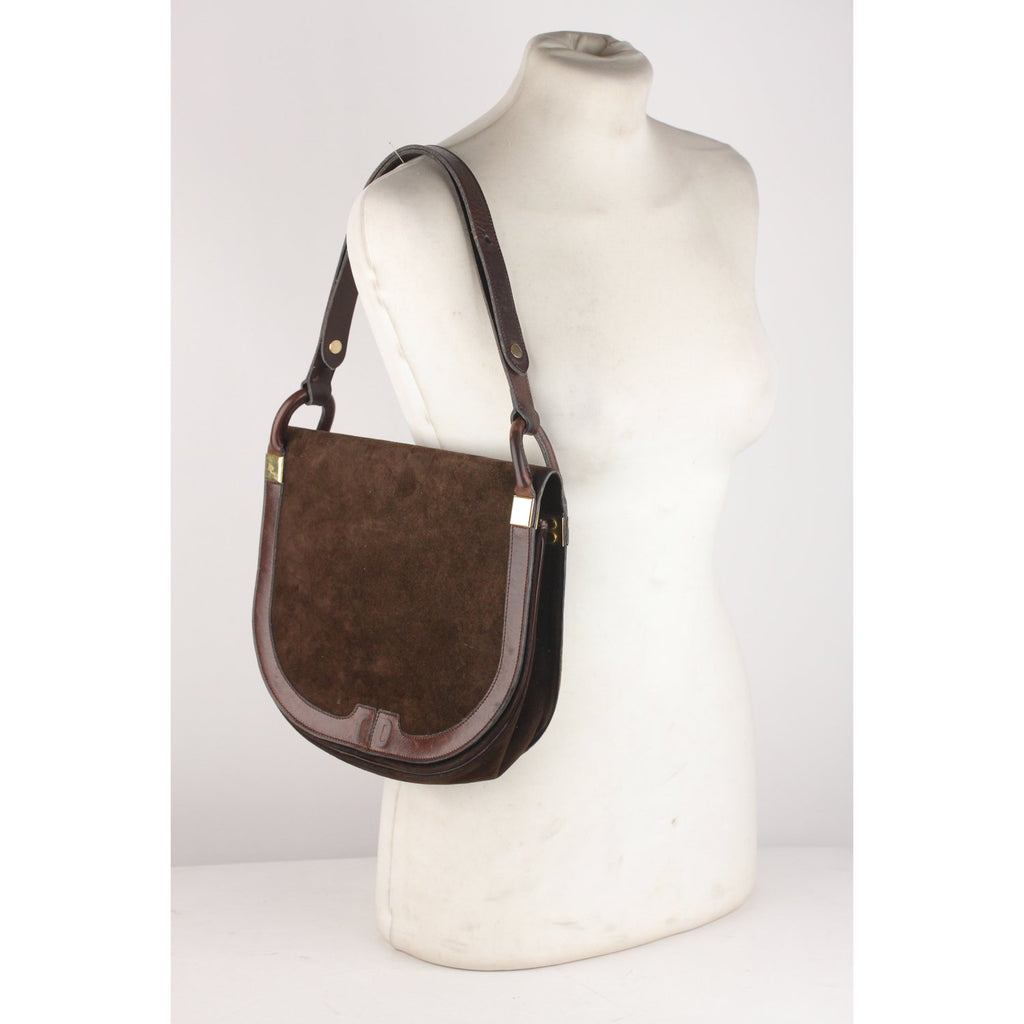 Vintage Flap Shoulder Bag