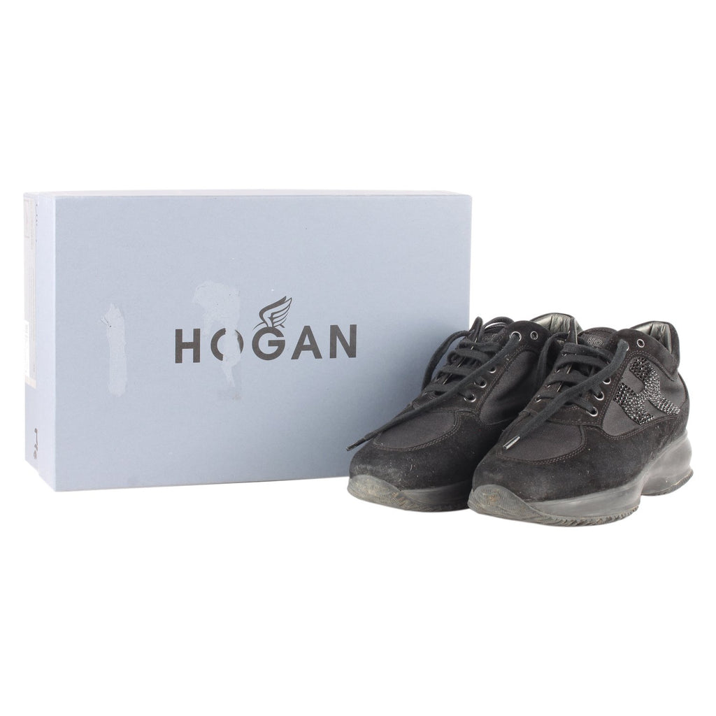 Hogan Interactive Sneakers with Rhinestones 38