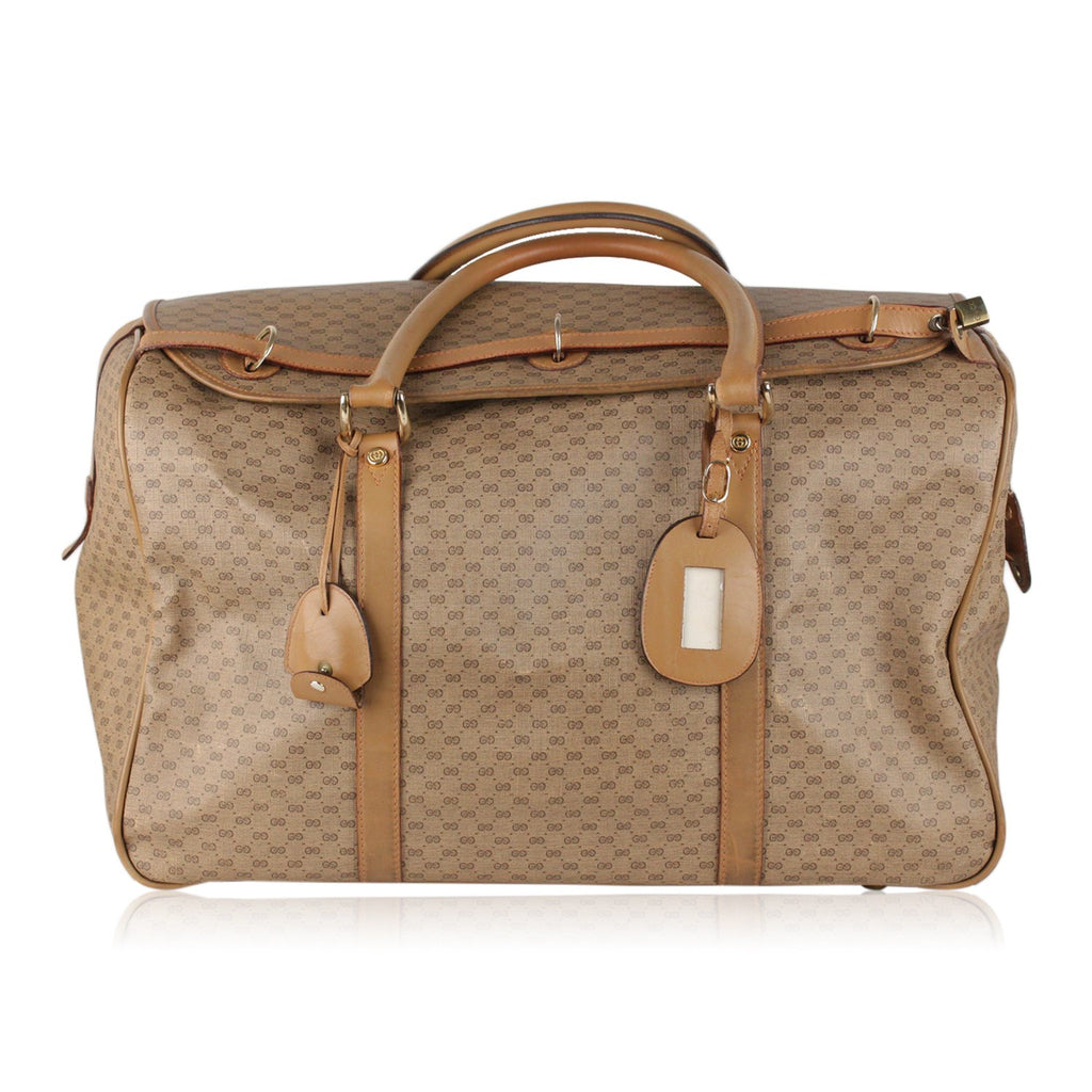 Gucci Vintage Monogram Travel Bag Weekender