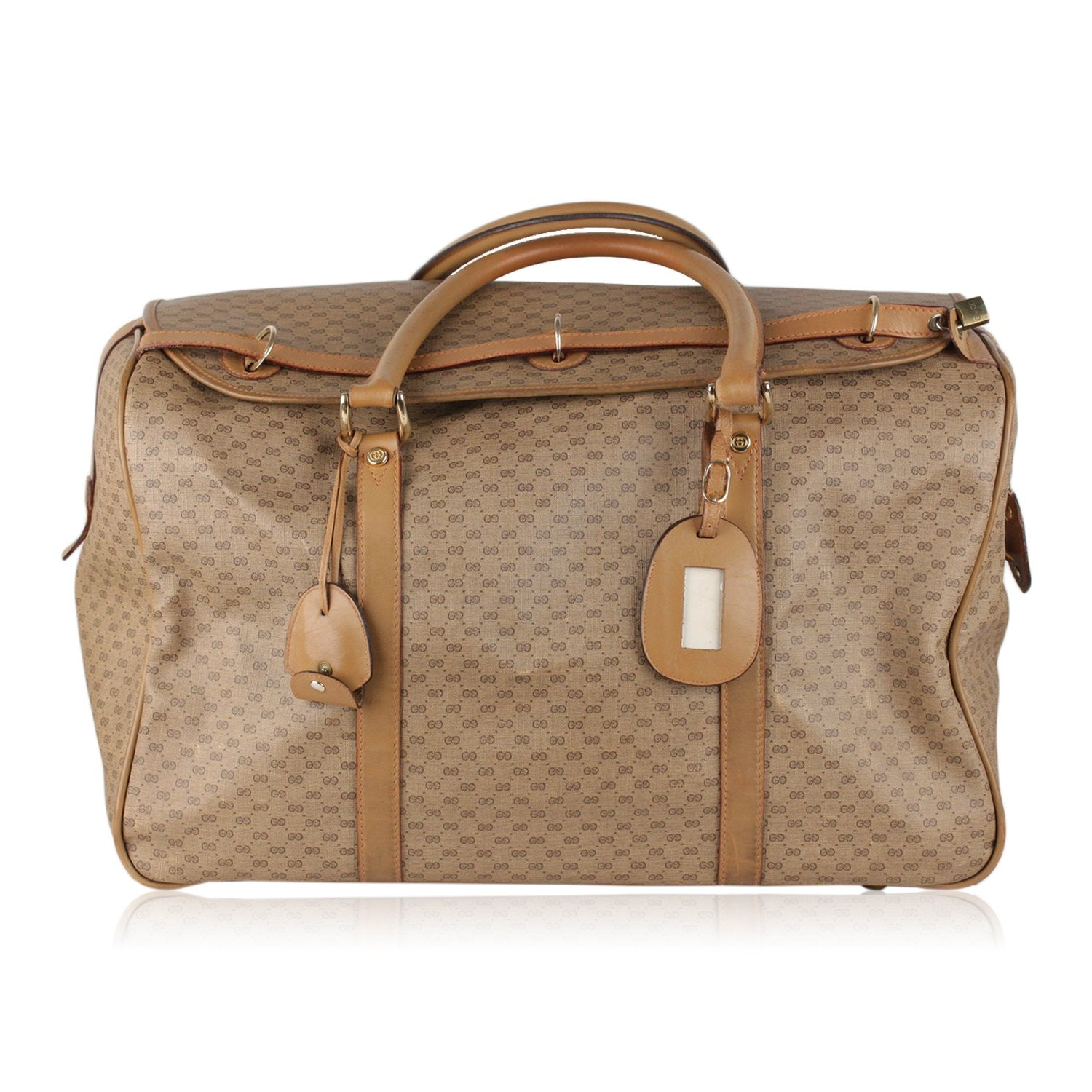 d138ee60b41 Enjoy Gucci Vintage Monogram Travel Bag Weekender at OPHERTYCIOCCI –  OPHERTY   CIOCCI
