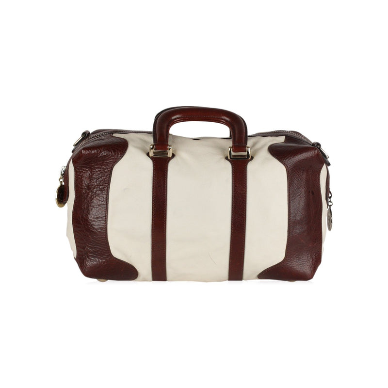 Bicolor Boston Bag