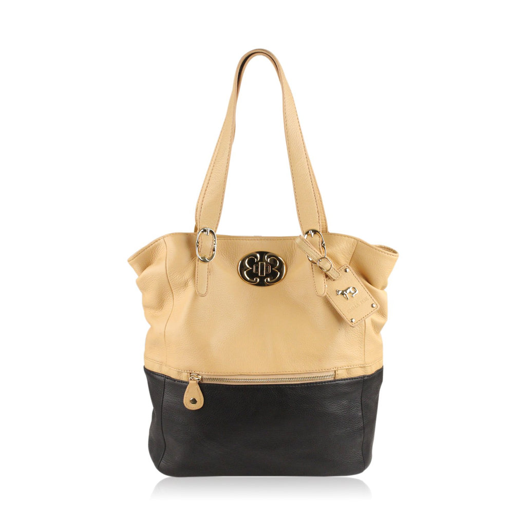 Bicolor Shopping Bag