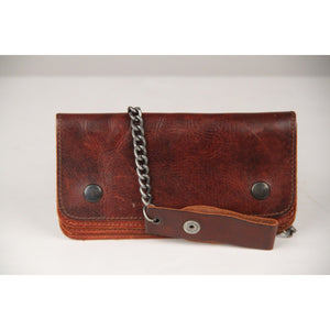 MAISON MARTIN MARGIELA Line 10 Brown Leather Chain Wallet