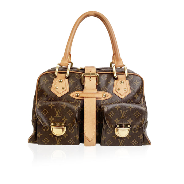 Louis Vuitton Monogram Canvas Manhattan GM Satchel Bag