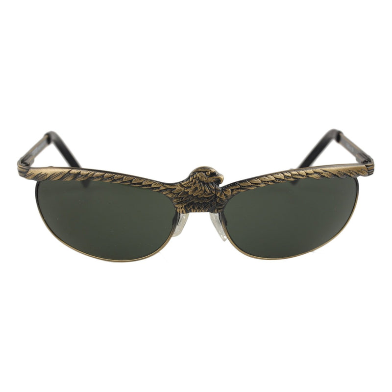 Condor Vintage Gunmetal Unisex Sunglasses Eagle Wings 140mm