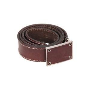 Gucci Belt with Rectangular Logo Buckle 90/36