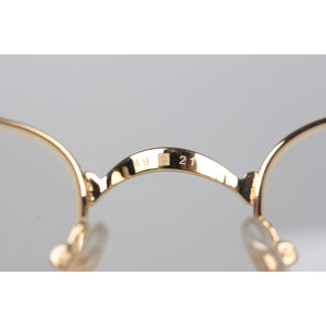 Gold Eyeglasses Mod. Sadir T8100586 49mm