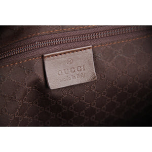 Gucci Boston Bag  with Striped Detail