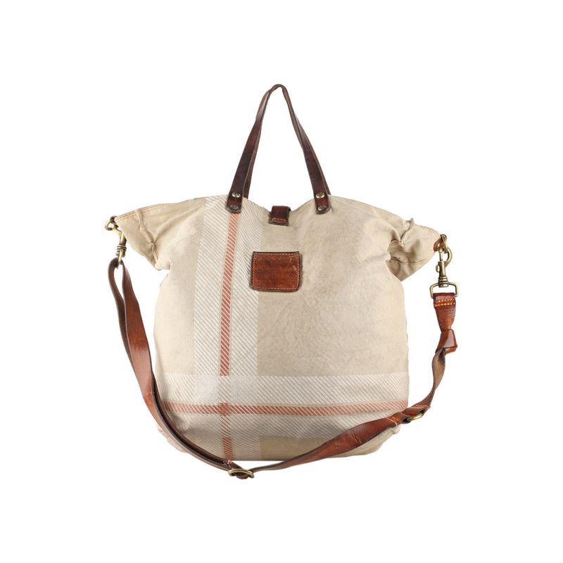 Campomaggi Teodorano Canvas Tote Bag with Print