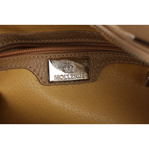 Maison Mollerus Pebbled Leather Tote Shoulder Bag