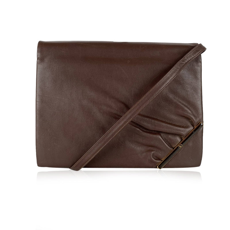 Valentino Vintage Messenger Clutch Bag