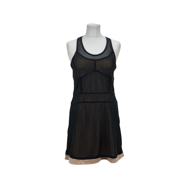 Adidas By Stella McCartney Black Tennis Mini Dress Size 34 EU