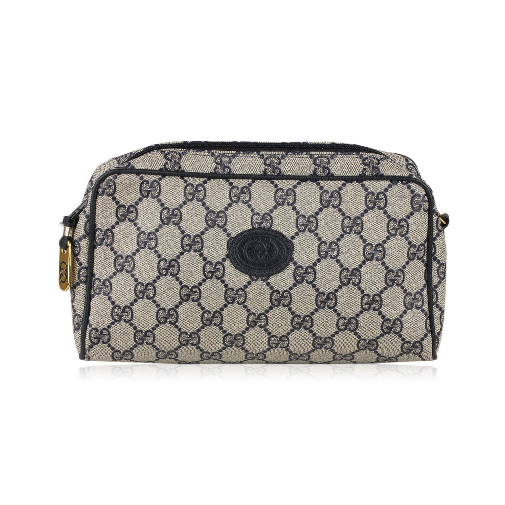 Gucci Vintage Monogram Cosmetic Bag
