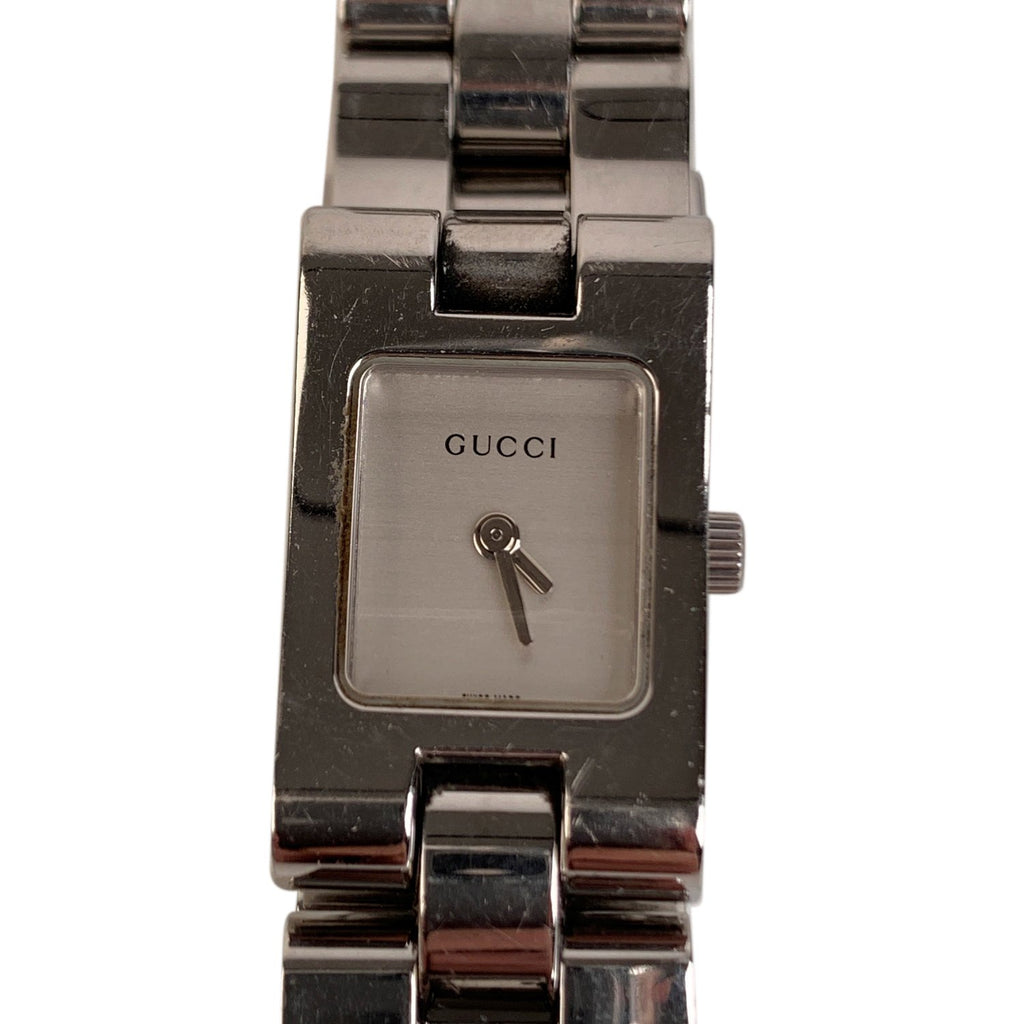 Gucci Gucci Stainless Steel Mod 2305L Wrist Watch White Dial - OPHERTY & CIOCCI