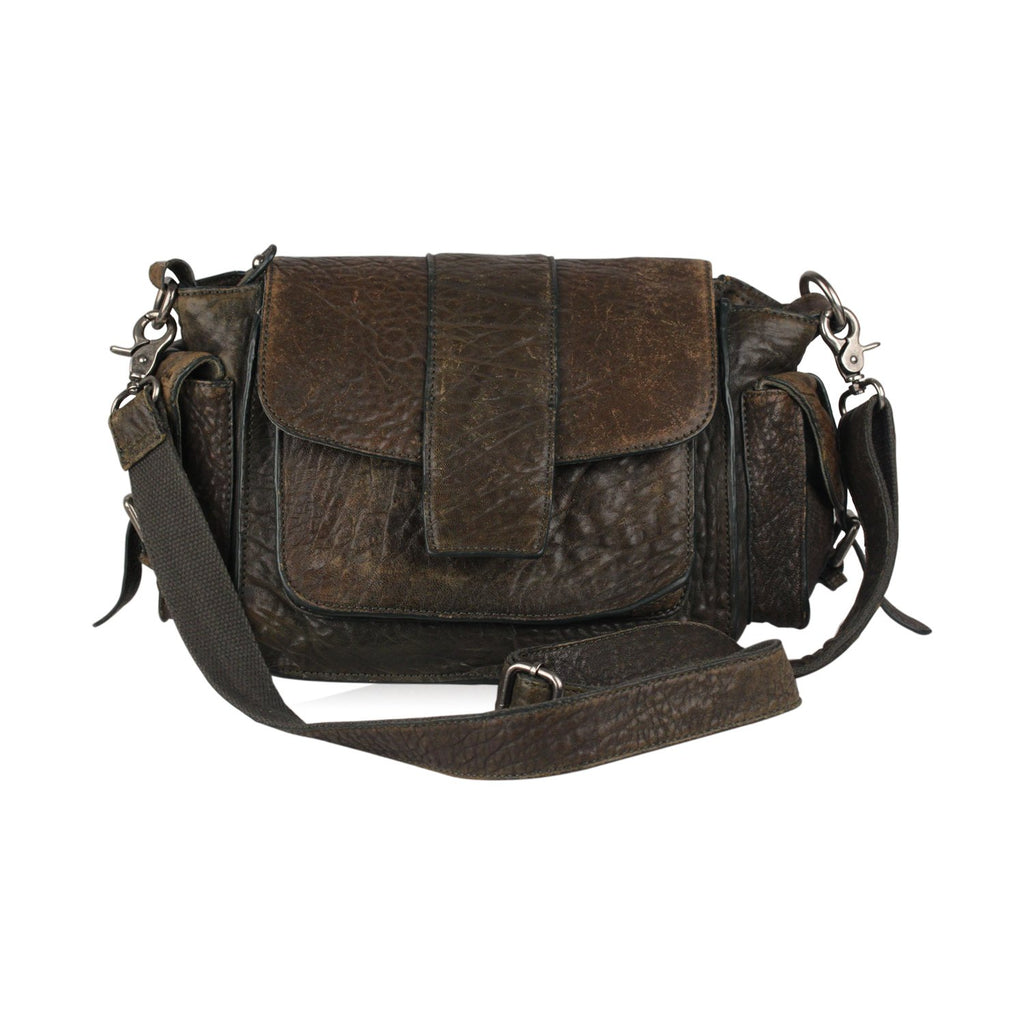 Flap Messenger Crossbody Bag