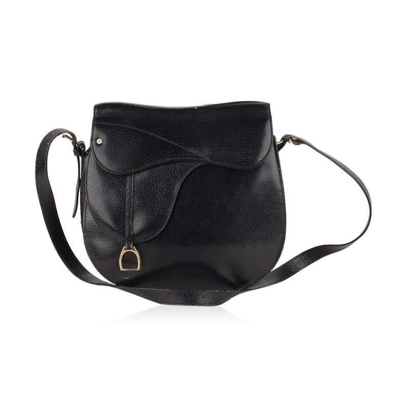 Gucci Vintage Saddle Shoulder Bag