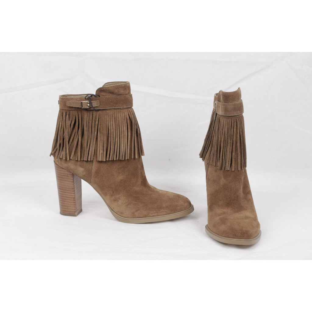 Preta Fringed Ankle Boots Size 9.5