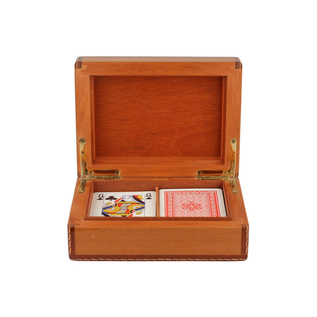 Hermes Vintage Gaming Box Poker Set