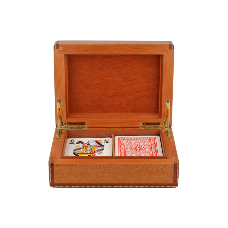 Vintage Gaming Box Poker Set