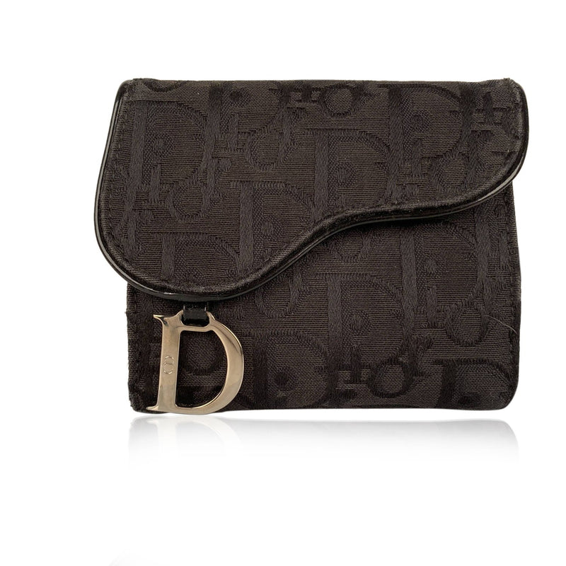 Christian Dior Saddle Compact Wallet