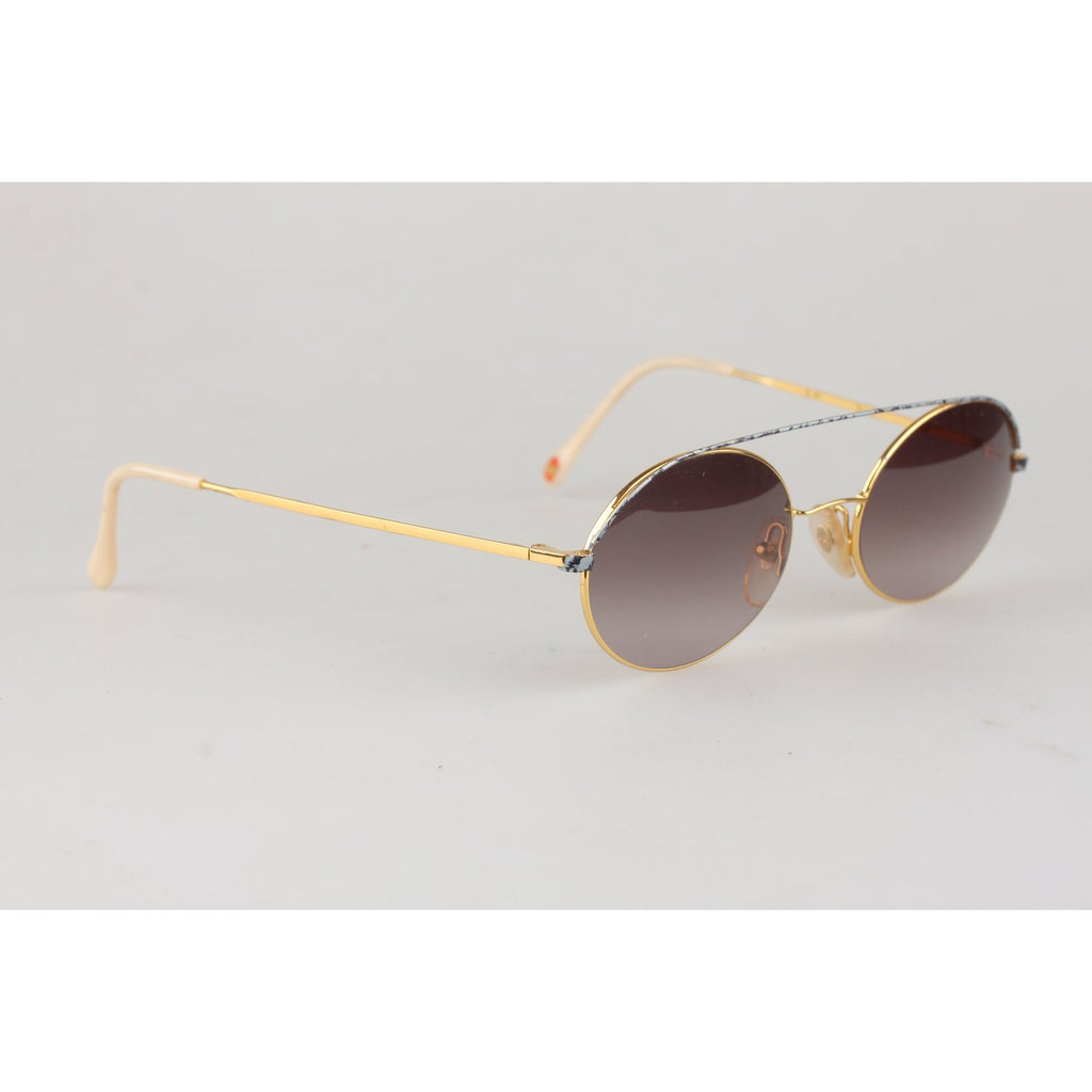 Vintage 24K Gold Plated Sunglasses Mod AC2 52mm