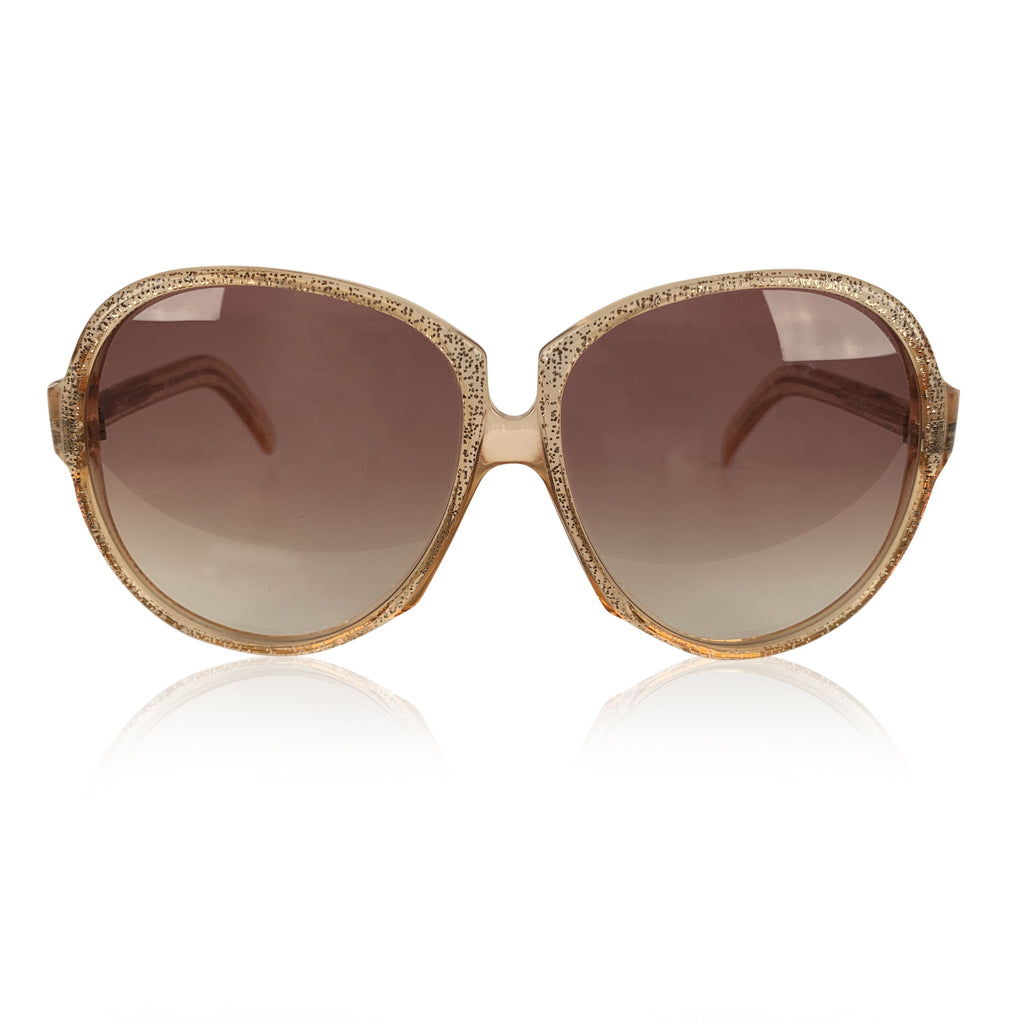 Yves Saint Laurent Vintage Sunglasses Glitter Gaude 58mm Oversized
