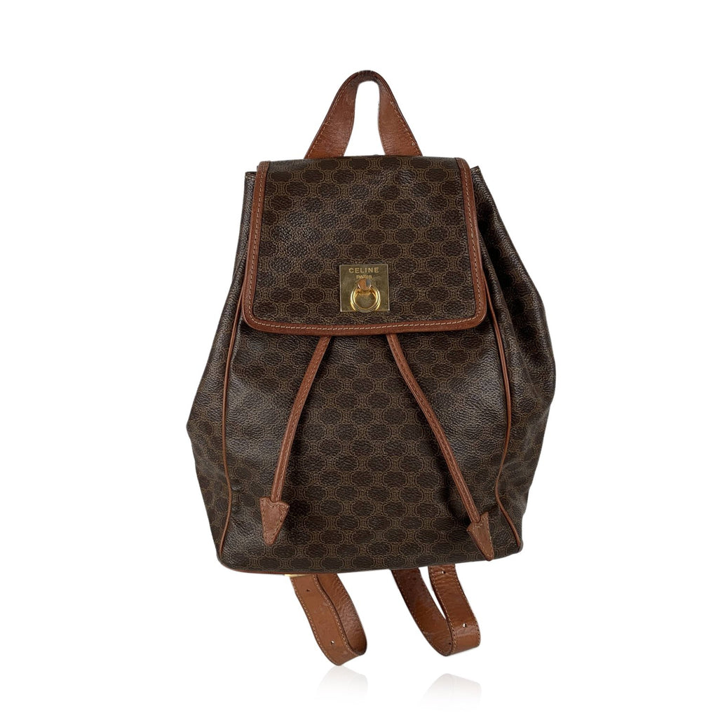 Celine Vintage Macadam Backpack Bag