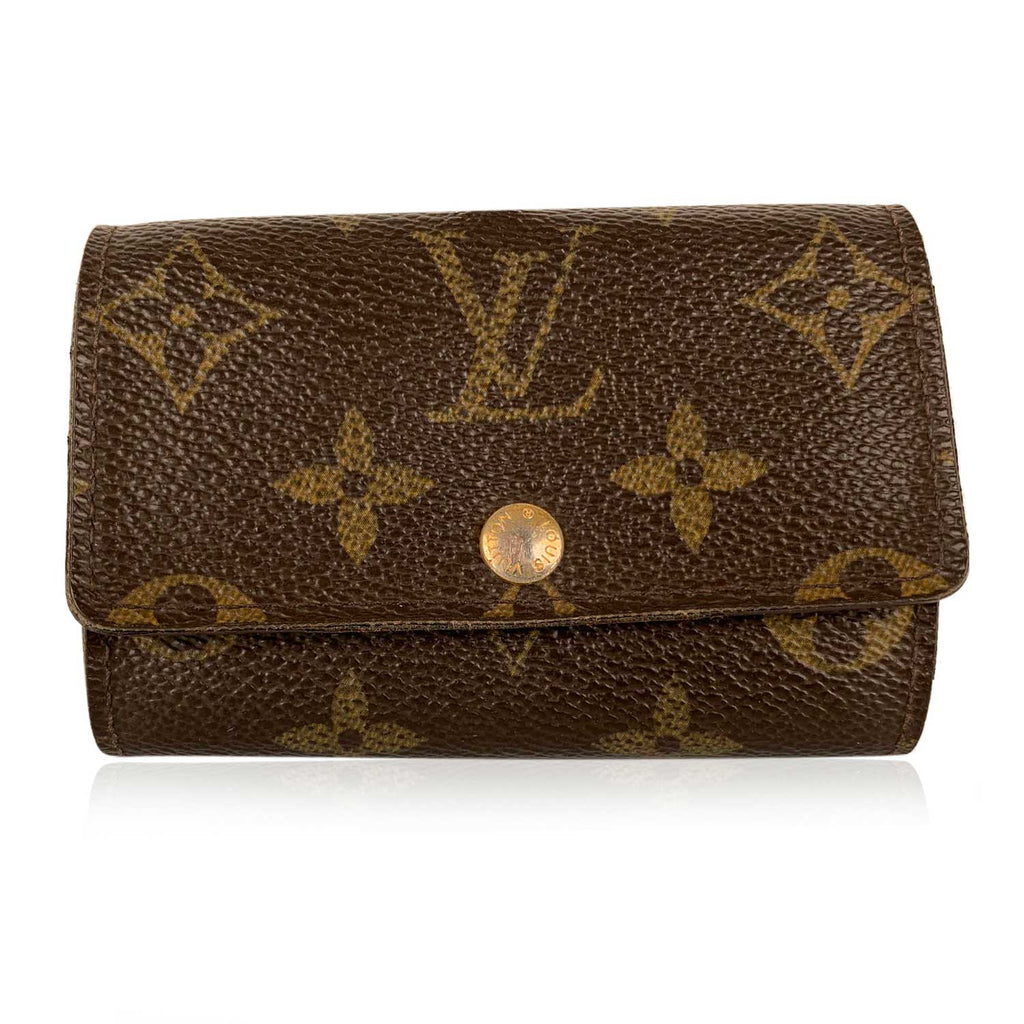 Louis Vuitton Unisex Monogram Canvas 6 Key Case Holder Keyring