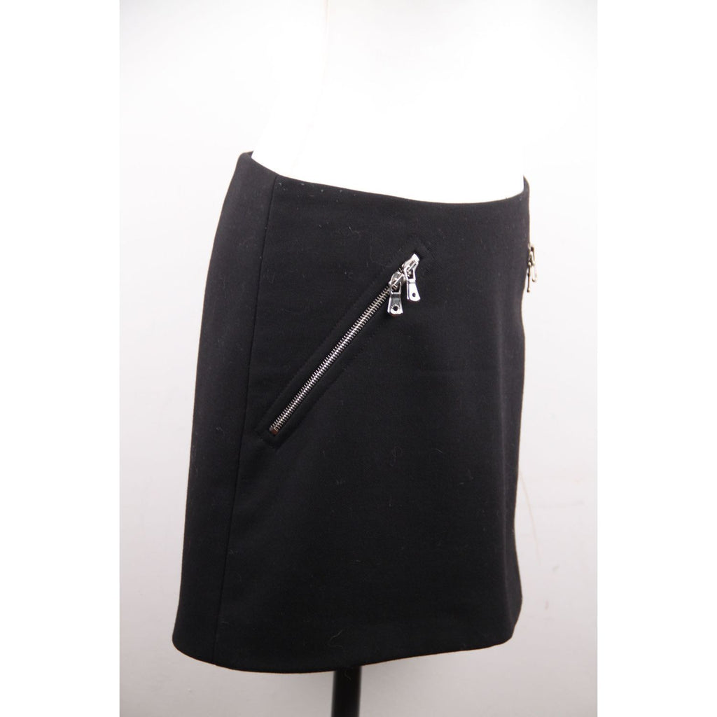 Mini Skirt with Zip Pockets Size 40