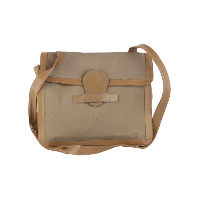 Vintage Vinyl Canvas Messenger Bag